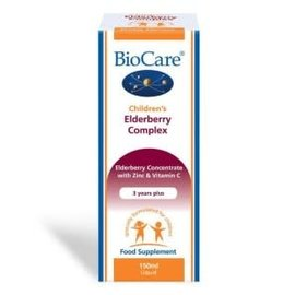 Bionutri BioCare Children's Elderberry Complex, 30 Chewable Tablets