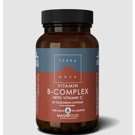 Terranova Terranova B-Complex with Vitamin C 50 capsules