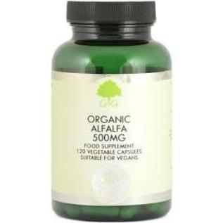 G&G Vitamins & Minerals G&G Organic Alfalfa 500mg 120 veg caps