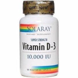 Solaray Solaray Super Strength Vitamin D-3 10,000IU