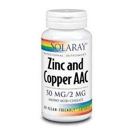 Solaray Solaray zinc and copper AAC 50mg/2mg