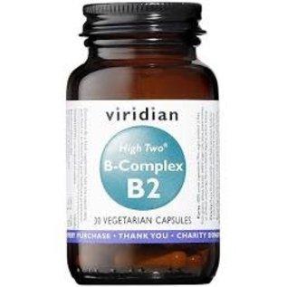 Viridian Viridian High Two B-complex B2 30 caps