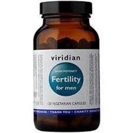 Viridian Fertility For Men Veg Caps (Hi-Potency) (120)