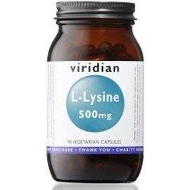 Viridian L-Lysine 500mg Veg Caps (90)