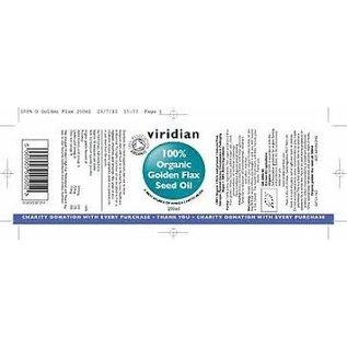 Viridian Golden flax seed oil 200ml
