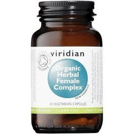 Viridian Organic Herbal Female Complex Veg Capsules (30)