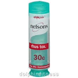 Nelsons Rhus Tox 30C Clikpak 84's