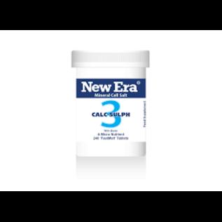 New Era New Era Combination 3 - calc sulph [240s]