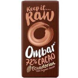 Ombar Ombar Dark 72% Raw Cacaobar 70g