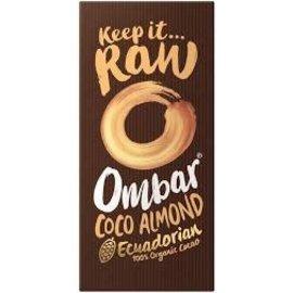 Ombar Ombar Coco Almond Ecuadorian 100% Organic Cacao 70g