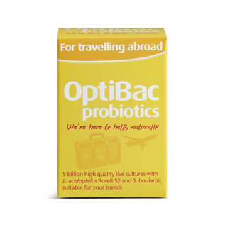Optibac For Travelling Abroad 20's