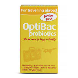Optibac For Travelling Abroad 60's
