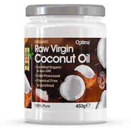 Optima Raw Organic Coconut Oil 453g