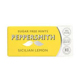 Peppersmith Peppersmith Sicilian Lemon Xylitol Mints