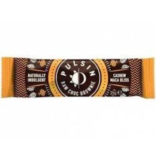 Pulsin Pulsin Raw Choc Brownie - Cashew Maca Bliss