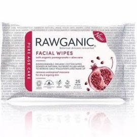 Rawganic Rawganic Hydrate Facial Pomegranate Wipes  [25s]