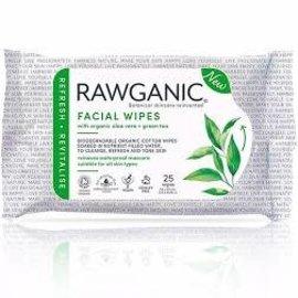 Rawganic Rawganic Refreshing Facial Aloe Vera Wipes  [25s]