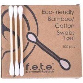 Fete F.E.T.E. bamboo cotton swabs