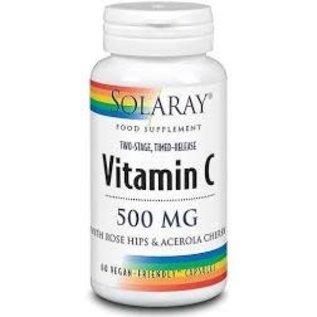 Solaray Vitamin C 500mg 60 caps