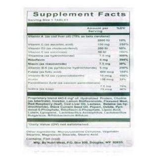 Nutriwest Nutri-West Pre/Post Natal Vitamins 60 tabs