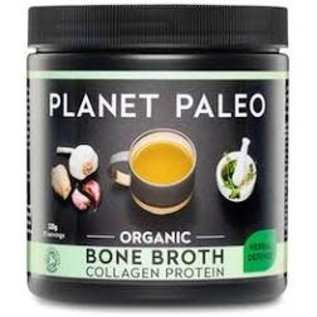 Planet Paleo Planet Paleo Organic Bone Broth Collagen Protein Herbal Defence 225g
