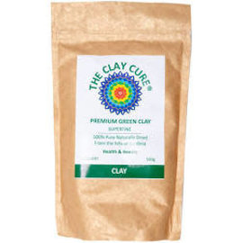 The Clay Cure The Clay Cure Premium Green Clay 500g