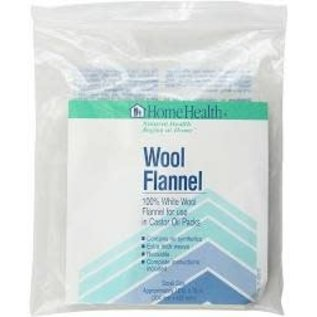 Home Health Wool Flannel for Castor Oil pack