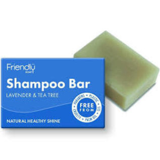 Friendly Shampoo Bar Lavender and Tea Tree 95g