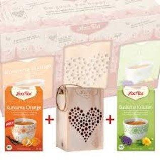 Yogi Tea Yogi Tea Bee Hotel Kit with Turmeric Orange and Alkaline Herbs Tea