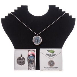 Amour Natural Aroma necklace in gift box, tree, style 2