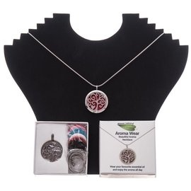 Amour Natural Aroma necklace in gift box, heart, style 1