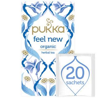 Pukka Tea Pukka Feel New Organic 20 tea bags