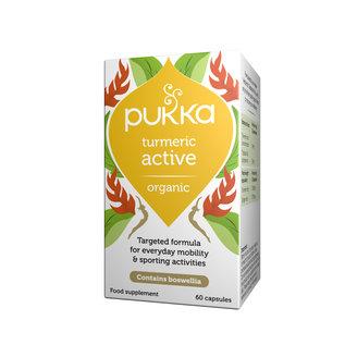 Pukka Pukka Turmeric Active 60 Capsules