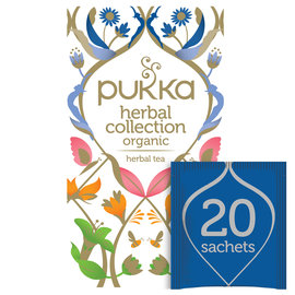 Pukka Tea Pukka Herbal Collection Organic