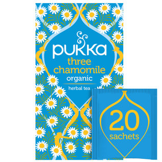 Pukka Tea Pukka Three Chamomile Tea 20 teabags