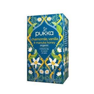 Pukka Pukka Chamomile, Vanilla & Manuka Honey tea bags
