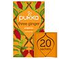 Pukka Tea Pukka Three Ginger Tea - 20 Teabags