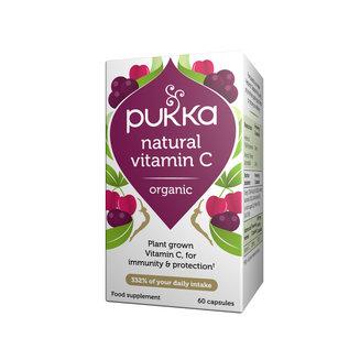 Pukka Tea Pukka Vitamin C 60 caps