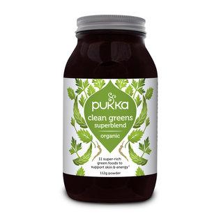 Pukka Clean Greens Superblend 112g Powder