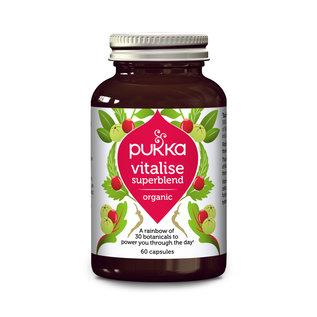 Pukka Vitalise Superblend Energy 60 Caps