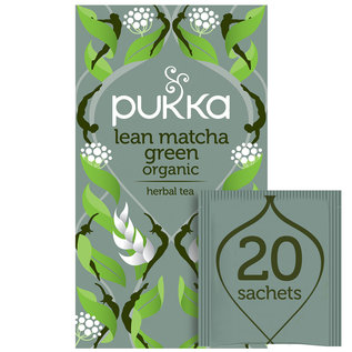 Pukka Tea Lean Matcha Green Cleansing 20 Teabags