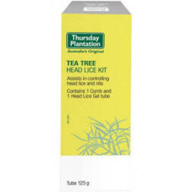 Thursday Plantation Thursday/P Tea Tree Headlice Kit [125g]