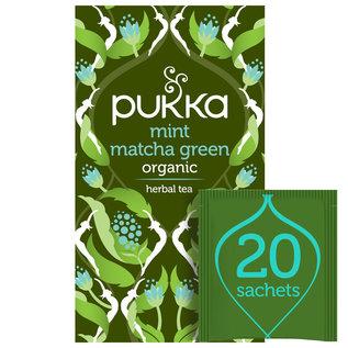 Pukka Tea Pukka Organic Mint Matcha Green 20 Teabags