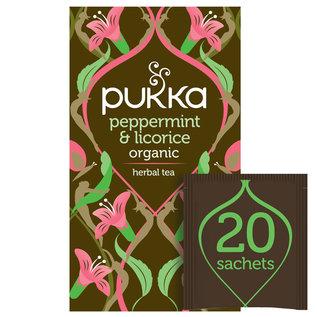 Pukka Tea Pukka Organic Peppermint & Licorice  20 Teabags