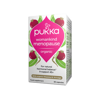 Pukka Womankind Menopause Womens 60 Caps