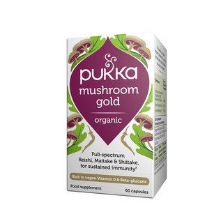 Pukka Pukka Mushroom Gold Organic 60 Caps
