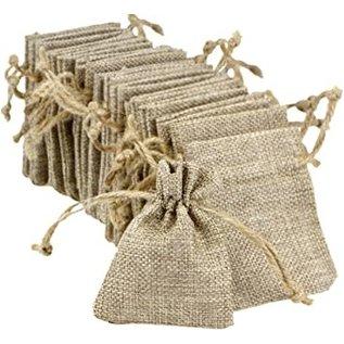 Hessian pouch
