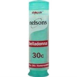 Nelsons Belladonna 30C Clikpak 84's