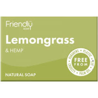 Friendly Soap friendly lemongrass & Hemp Soap