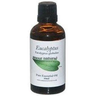 Amour Natural Eucalyptus Pure Essential Oil 50ml non organic